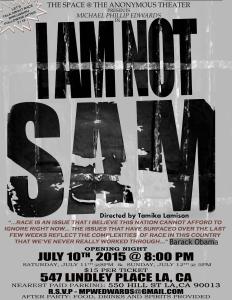 I AM NOT SAM